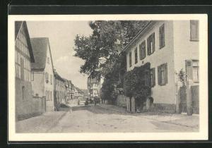AK Altenstadt / Hessen, Motiv aus der Kirchgasse