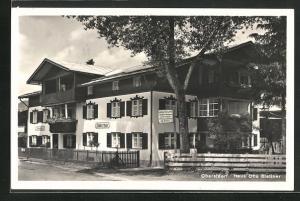 AK Oberstdorf, Hotel Blattner Haus