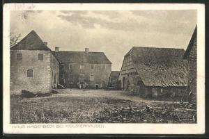 AK Holsterhausen, Dreiseitenhof Haus Hagenbeck