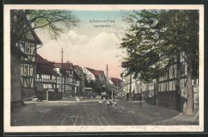 AK Altmorschen, Blick in die Bachstrasse