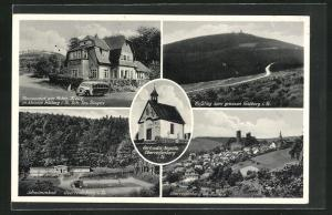 AK Oberreifenberg, Restaurant am Roten Kreuz, Schwimmbad, Feldberg