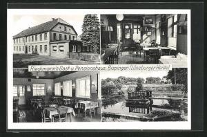 AK Bispingen / Lüneb. Heide, Rieckmann's Gast- und Pensionshaus