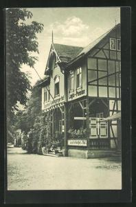 AK Bad Leutenberg i. Th., Gasthaus Leutenberger Hof