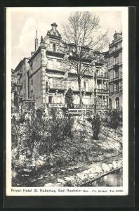 AK Bad Nauheim, Privat-Hotel St. Hubertus