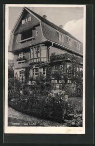 AK Alsfeld, Hotel Haus Laufer