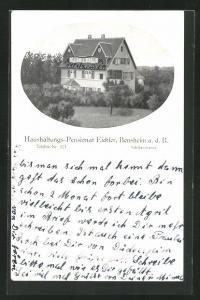 AK Bensheim a. d. B., Haushaltungs-Pensionat Eichler in der Schillerstrasse