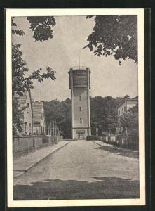 AK Walldorf, Kantstrasse und Wasserturm