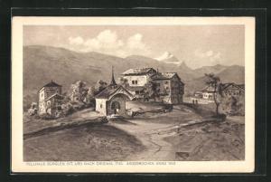 AK Bürglen, Sicht auf das Tellhaus