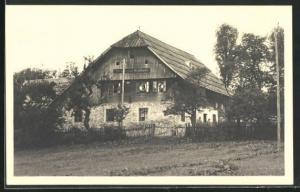 AK Mürzzuschlag, Blick auf Steinklaubers Gasthaus