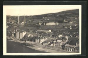 AK Steyr, Panoramablick auf die Werndlwerke