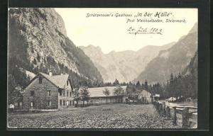 AK Weichselboden, Schützenhauer's Gasthaus in der Hölle