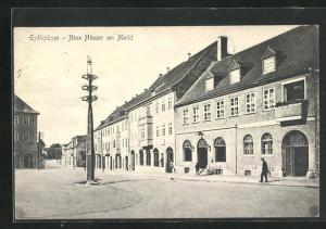 AK Eydtkuhnen, Neue Häuser am Markt