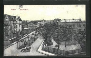 AK Sagan, Blick auf die Pohlstrasse