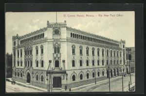 AK Mexico City, El Correo Nuevo, the New Post Office