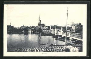 AK Wollin, Partie an Brücke