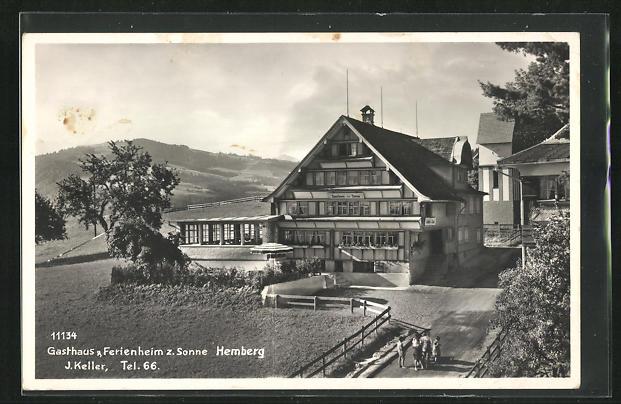 AK Hemberg, Gasthaus zur Sonne 0