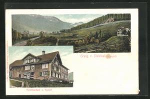 AK Steinthal / Kappel, Gasthaus zum Speer, Panorama