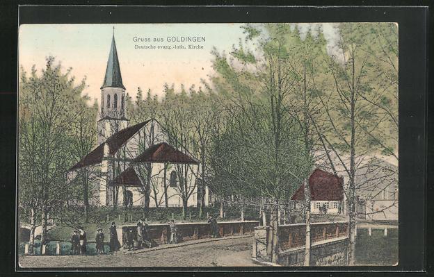 AK Goldingen, Deutsche evang. luth. Kirche 0