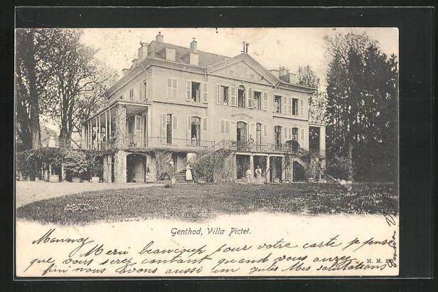 AK Genthod, Villa Pictet 0