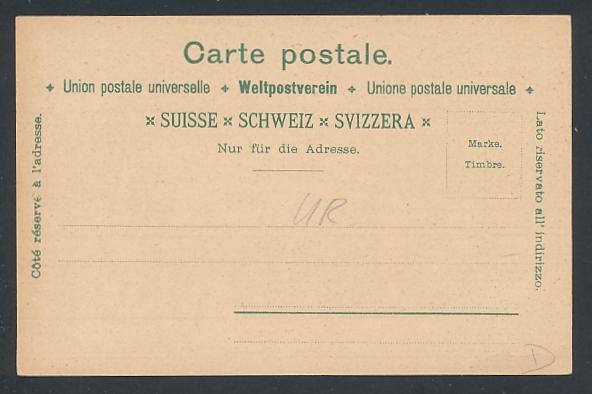 Künstler-AK Altdorf, Historische Postkarte, Telldenkmal, Tells Apfelschuss 1