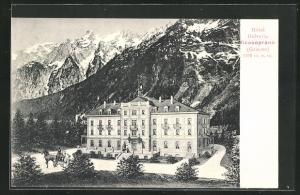 AK Vicosoprano / Grisons, Hotel Helvetia