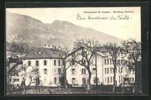 AK Monthey, Blick auf das Pensionnat St. Joseph