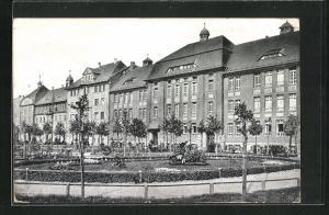 AK Oppeln, Park am Friedrichsplatz