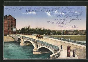 AK Liegnitz, Kaiser Friedrich-Brücke