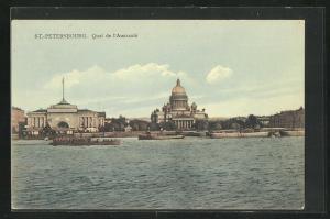 AK St. Petersbourg, Quai de l`Amiraute