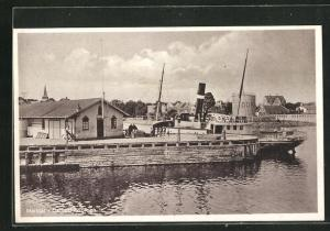 AK Marstal, Dampskibsbroen