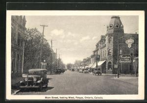 AK Fergus-Ontario, Main Street, looking West