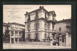 AK Nice, Hotel-Pension Carlone, pres de la Mer, 2 Boulevard Carlone