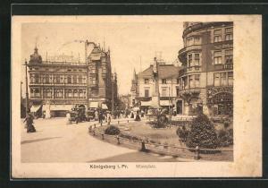 AK Königsberg, Münzplatz