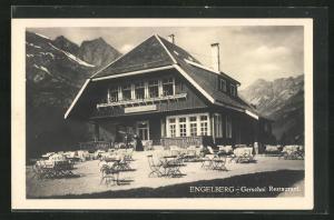 AK Engelberg, Ansicht vom Gerschni Restaurant