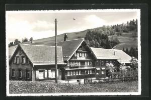 AK Mistelegg-Hemberg, Gasthaus und Handlung zur Alpenrose