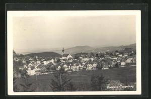 AK Kirchberg / Toggenburg, Blick auf die Ortschaft