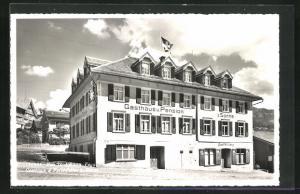 AK Neu St. Johann, Gasthaus und Pension zur Sonne