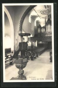 AK Zofingen, Inneres der Kirche