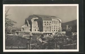 AK Dornach-Artesheim, Blick zum Goetheanum