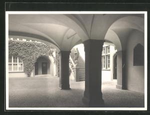 AK Rheinfelden, Blick in den Rathaushof