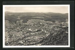 AK Liestal, Ortsansicht aus der Vogelschau