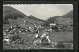 AK Langenbruck im Baselbiet, Panoramablick auf das Dorf