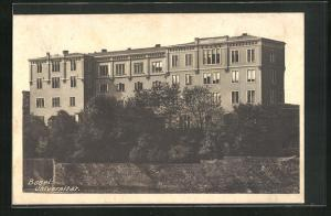AK Basel, Ansicht der Universität