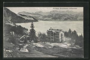 AK Vitznau, Kurhaus Grubisbahn-Nebelmeer