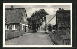 AK Nordby, Häuserpartie in einer Strasse