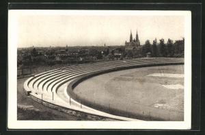 AK Vrsac, Stadion mit Blick zum Ort