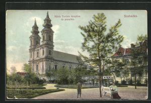 AK Szabadka, Maria Terezia templom es parochia