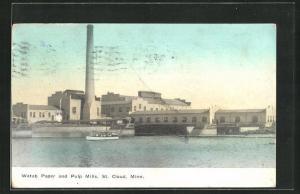 AK St. Cloud, MN, Watab Paper and Pulp Mills