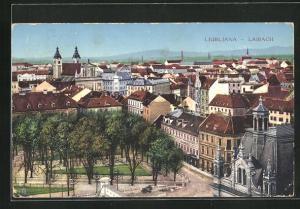 AK Ljubljana / Laibach, Totalansicht