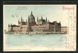 Lithographie Budapest, Parlament
